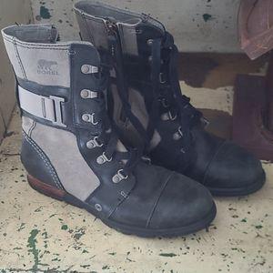 Sorel Combat Boots  8